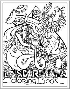 Discordian Coloring Book